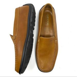 Geox Leather Driving Loafer